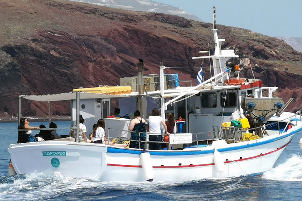 Fishing Trip - Santorini